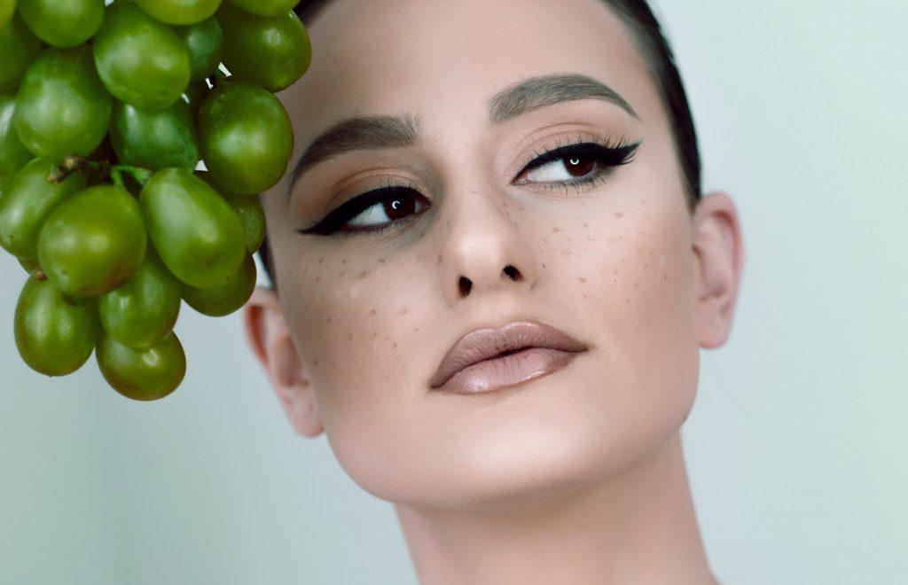 druivenpitolie gezond huid gezicht