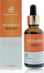 dermarolling vitamine e olie serum