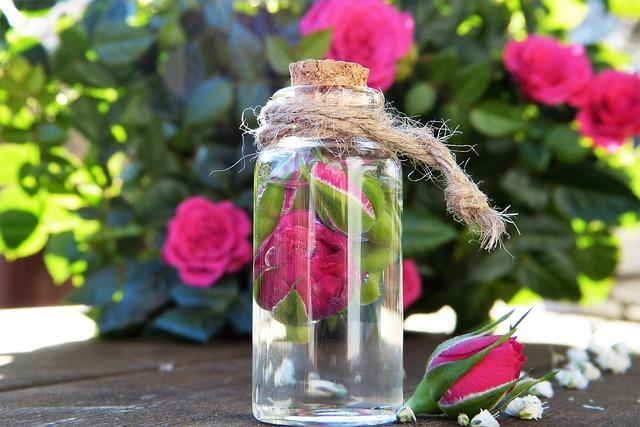 rozenolie water werking