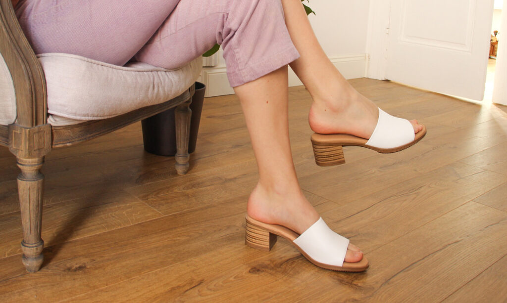 vegan schoenen merk dames duurzaam slow fashion