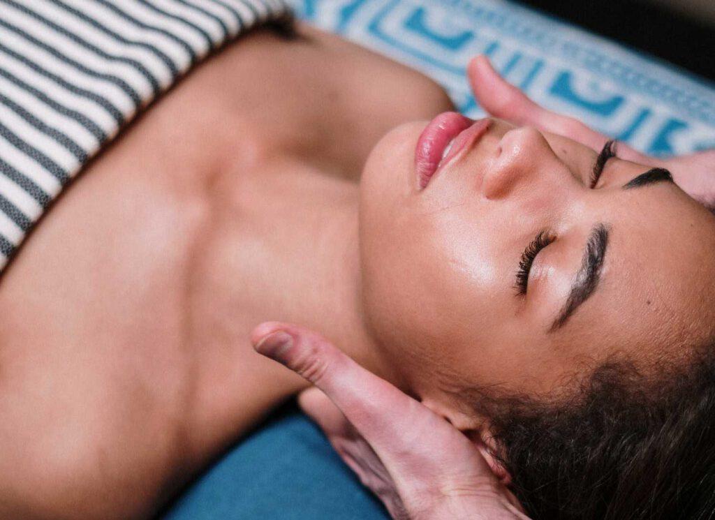 manuele lymfedrainage massage oedeem behandeling