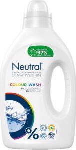 Neutral wasmiddel kleur