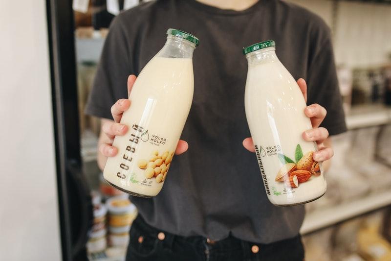 Amandelmelk alternatief plantaardige melk